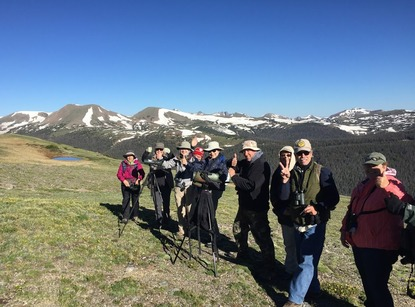 group in RMNP while spotting the WTPT